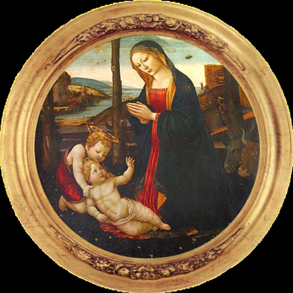 """""""Đức Mẹ và Thánh Giovannino"""""""