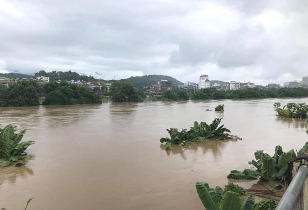 Nước sông Hồng dâng cao sau khi Trung Quốc liên tục xả lũ | NTD ...