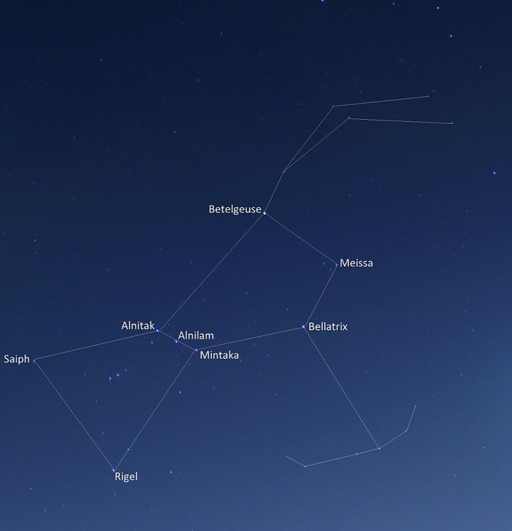 Ba kim tự tháp Giza thực sự hướng thẳng về phía vàtrùng khít với ba ngôi sao Đai lưng thuộc chòm sao Orion.