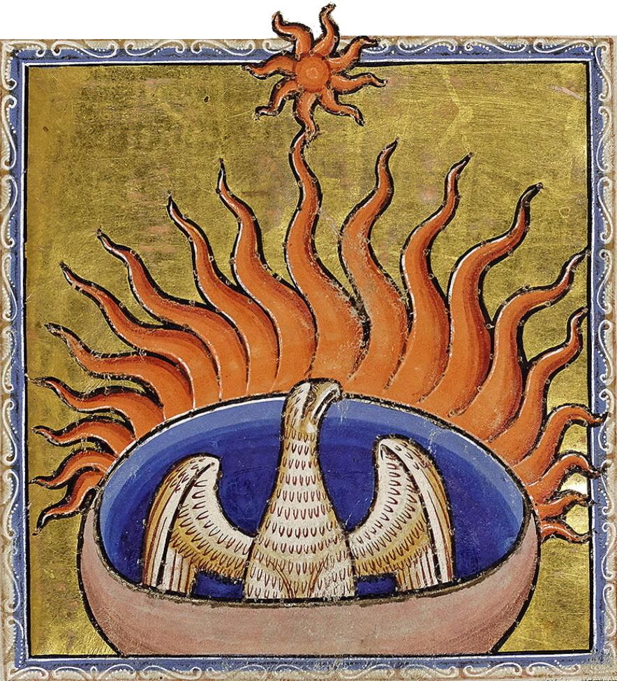 Người Hy Lạp tin rằng Phượng Hoàng là biểu tượng của thần mặt trời Apollo.