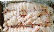 Virus Vũ Hán trong cánh gà và tôm nhập khẩu vào Trung Quốc