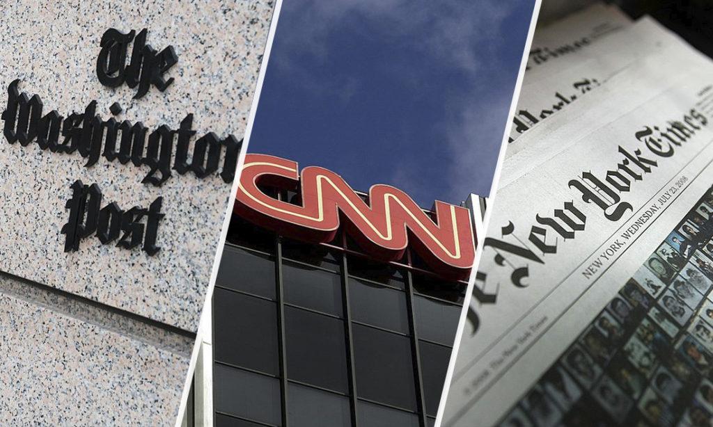 Đội ngũ của ông Trump kiện 3 tờ The New York Times, Washington Post và CNN vì tội phỉ báng