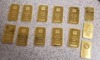 Một người Trung Quốc bị bắt giữ khi mang thỏi vàng trị giá 28.000 USD đột nhập vào Mỹ