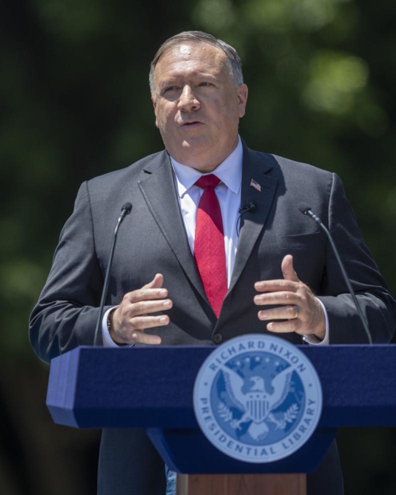 Ngoại trưởng Hoa Kỳ Pompeo bày tỏ quan ngại về các biện pháp hà khắc của chính quyền Hong Kong