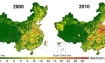Nghiên cứu: Ô nhiễm không khí Trung Quốc giết chết 30,8 triệu người từ năm 2000 đến 2016