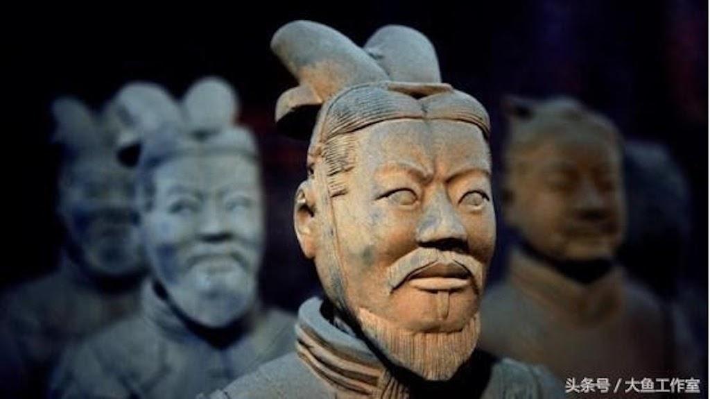 Các tượng binh mã ban đầu đều có màu sắc