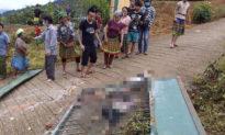 Sập cổng trường mầm non ở Lao Cai khiến 6 học sinh thương vong