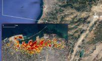 Hình ảnh vệ tinh NASA cho thấy sự tàn phá gây ra bởi vụ nổ Beirut