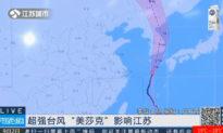 Vùng Đông Bắc TQ trong 1 tuần hứng chịu 2 trận bão lớn hiếm thấy