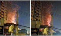 TP. HCM: Cháy lớn ở quận 9 thiêu rụi nhiều tài sản