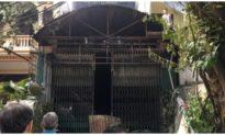 Căn nhà 3 tầng bán vàng mã ở Thanh Hóa bốc cháy, thiêu rụi ô tô và xe máy