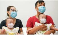 Hai bé song sinh Trúc Nhi và Diệu Nhi chuẩn bị xuất viện