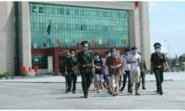 Việt Nam trao trả 113 người Trung Quốc nhập cảnh trái phép
