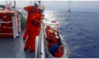 Tàu cá bị tàu lạ tông chìm, 1 ngư dân mất tích, nhiều người bị thương