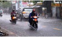 Ảnh hưởng hoàn lưu sau bão Noul, cả nước mưa dông diện rộng