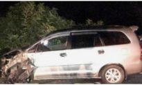 Tài xế ô tô tông đoàn xe máy đi đám cưới khiến 9 người bị thương đã ra trình diện