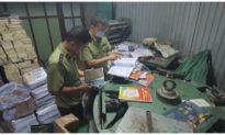 Hà Nội thu giữ hàng tấn sách giáo khoa giả NXB Giáo dục Việt Nam