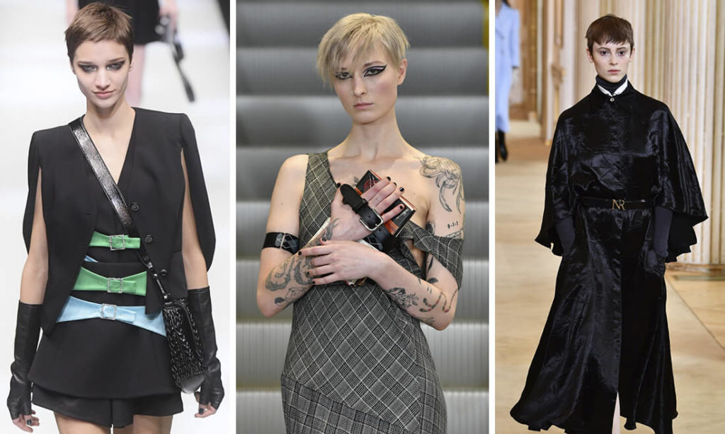 Các tín đồ thời trang thích chọn phong cách phá cách và thử những thứ táo bạo hơn như tóc cắt ngắn, tỉa tém như đàn ông, và nhuộm màu kỳ quặc chẳng hạn.