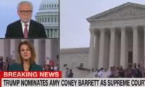 """Tường thuật trực tiếp của CNN bị át đi khi mọi người hét to: """"CNN là tin giả"""""""