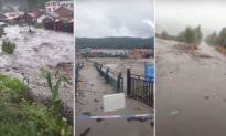 3 cơn bão liên tiếp tấn công, gây lũ lụt lịch sử ở nhiều tỉnh thành của Trung Quốc