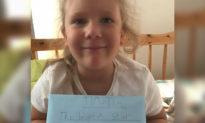 """Đây là lý do cô bé người Anh viết thư lên """"thiên đường"""", và bất ngờ nhận được hồi âm"""