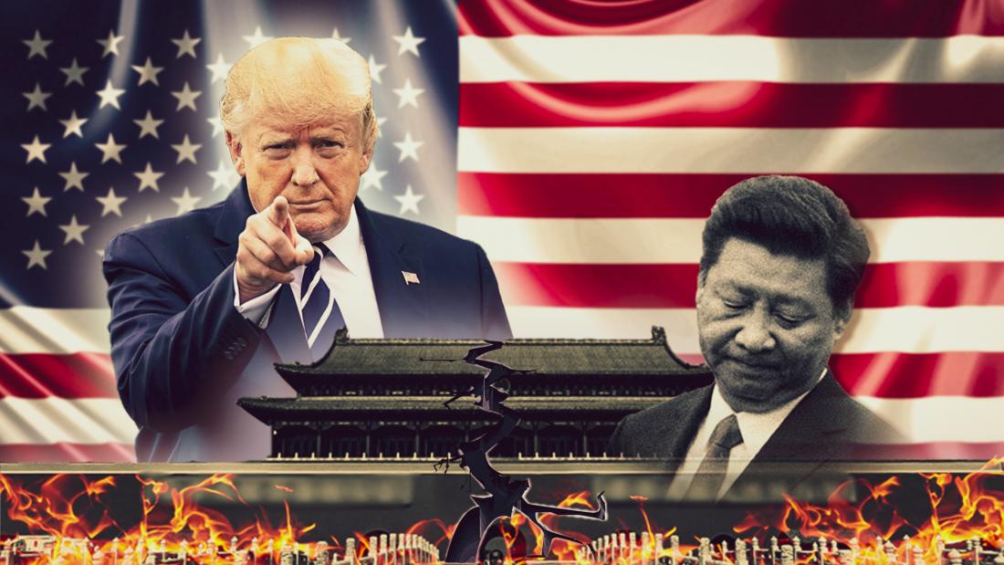 Tổng thống Trump Tiêu diệt Tập Cận Bình.