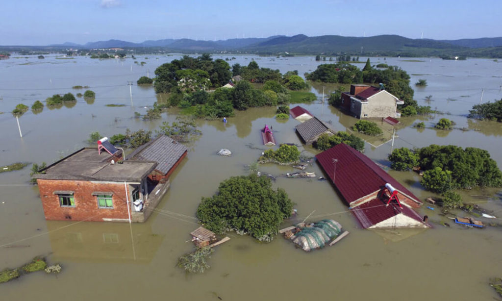 Trung Quốc lập kỷ lục mới: 21 trận lũ lụt quy mô lớn trong năm 2020