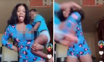 Kinh hoàng trào lưu Tik Tok mới: Cha mẹ ném con và nhảy theo bài hát phá thai