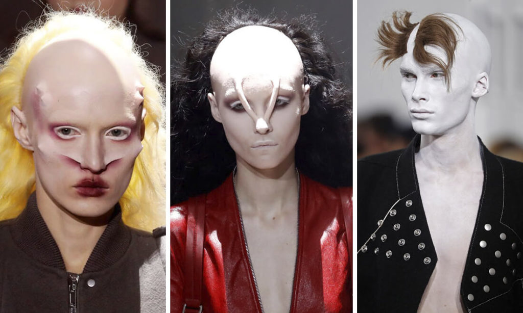 """Phim ảnh Hollywood đã lăng xê đủ mọi loại quần áo """"quái dị"""" bó sát người theo phong cách của người ngoài hành tinh. Trào lưu này lại còn được coi là thời thượng nên nhanh chóng được truyền bá."""