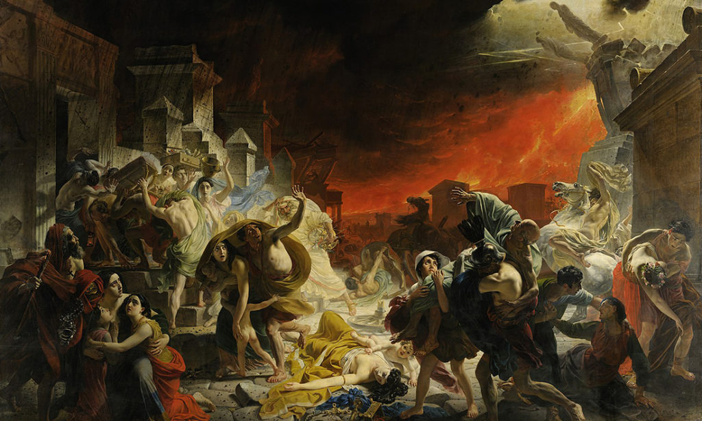 Từ tội ác khiến thành Pompeii diệt vong: Nhìn lại thế giới chúng ta đang sống