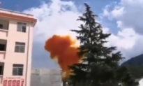 Máy phóng tên lửa của ĐCSTQ hoàn toàn mất kiểm soát, suýt phá hủy tòa chung cư