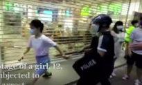 Hong Kong chấn động: 3 cảnh sát sử dụng vũ lực để khống chế một bé gái 12 tuổi