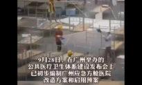 Xuất hiện hàng loạt bệnh viện dã chiến quy mô lớn ở tỉnh Quảng Châu