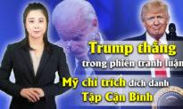 """Tin nóng 30/9: Trump thắng trong phiên tranh luận; CSGT bụng to sẽ không được """"đứng đường"""""""