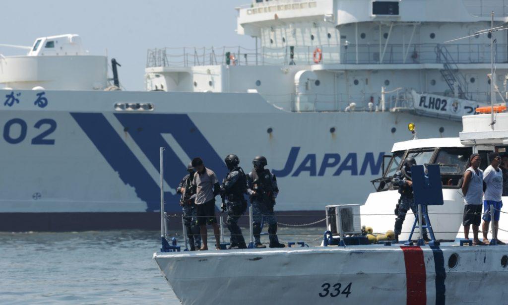 Tàu Trung Quốc lại đi vào vùng biển Hoa Đông tranh chấp với Nhật Bản