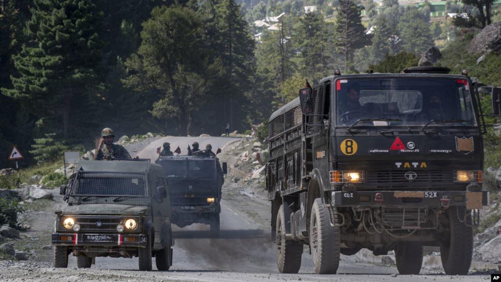 Binh lính Trung Quốc bị bắt vì vượt biên giới Ấn Độ