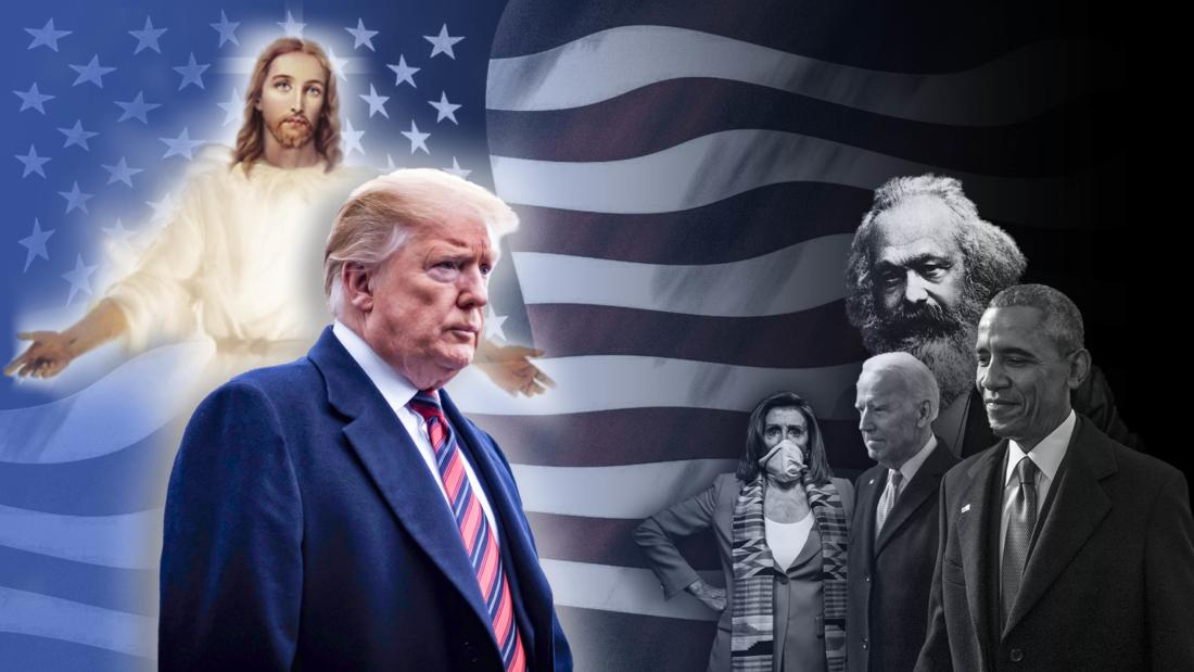 Chúa đã chọn Trump