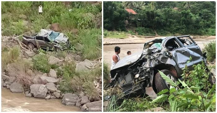 Ô tô mất lái rơi xuống vực ở Nghệ An, 3 thầy cô giáo thương vong