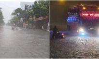 Nhiều thủy điện ở Nghệ An đồng loạt xả lũ, người dân lại hối hả chạy lụt trong đêm