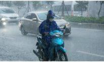 Bắc Bộ mưa to, nguy cơ lũ quét và sạt lở đất tại các tỉnh miền núi