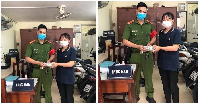 Nhặt được 4 cọc tiền, nữ sinh viên 21 tuổi ở Sài Gòn tìm người đánh rơi