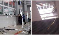 Bệnh viện nghìn tỷ ở Đắk Lắk gặp sự cố, trần thạch cao và sắt rơi xuống đất