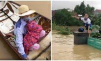 Nhật Bản vận chuyển hàng viện trợ giúp người dân vùng lũ miền Trung, Quốc tế cam kết hỗ trợ trên 300.000 USD