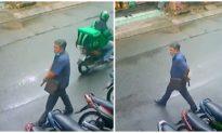 Xác minh người đàn ông trung niên rút súng, lên đạn giữa đường ở TP. HCM