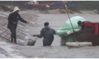 Bão số 7 suy yếu thành áp thấp nhiệt đới, các tỉnh ven biển Bắc Bộ mưa lớn