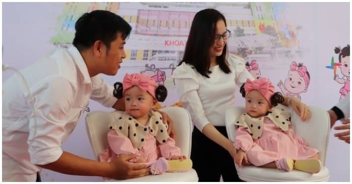 Hai bé song sinh Trúc Nhi - Diệu Nhi xuất viện sau 84 ngày phẫu thuật tách rời