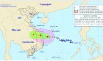 Bão số 6 giật cấp 9 hướng vào Quảng Nam – Bình Định