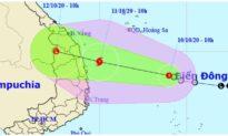 Áp thấp nhiệt đới dự báo mạnh lên thành bão, đổ bộ khu vực Quảng Nam đến Phú Yên