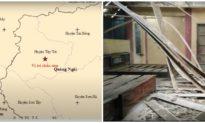 2 trận động đất xảy ra liên tiếp trong 5 phút ở Quảng Ngãi