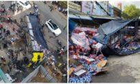 Xe tải tông liên hoàn xe 7 chỗ và nhiều xe máy ở Quảng Ngãi, ít nhất 8 người thương vong